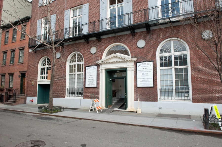 Barrow Street Theatre, Greenwich House, West Village.