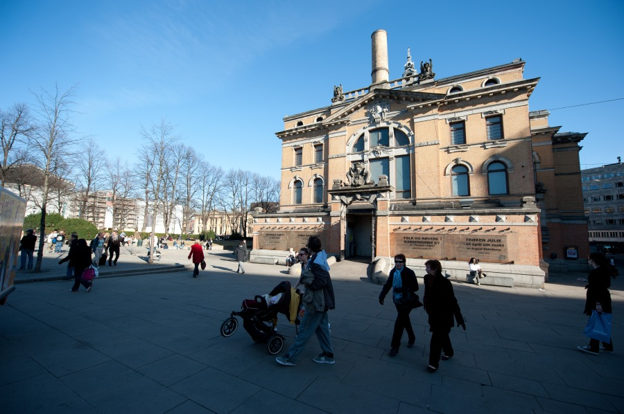 Nationaltheatret, Oslo.