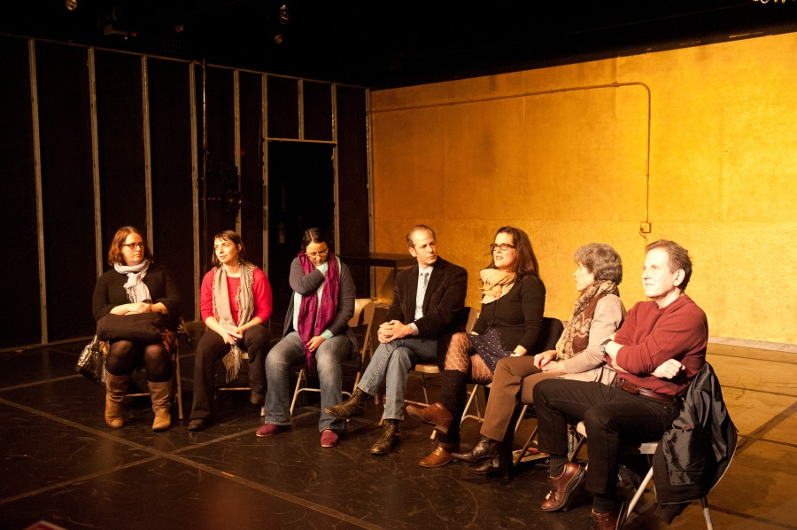 Erin Boberg (PICA), Kate Sanderson Holly (PETE), Cristi Miles (PETE), Michael Mendelson (Portland Shakespeare Project), Kate Bredeson (Reed College), Lue Douthit (Oregon Shakespeare Festival)), Stephen Weeks (Lewis & Clark)