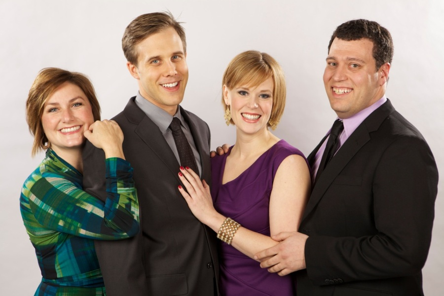 Amy Jo Halliday, Joshua Stenseth, Leah Yorkston, and Colin Wood.  Photo: Chris Ryan.