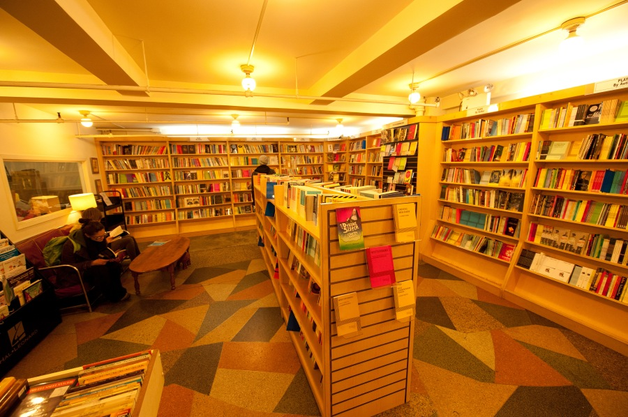 The one, the only: New York City's Drama Bookshop on West 40th. A sanctuary from (to?) the urban drama.