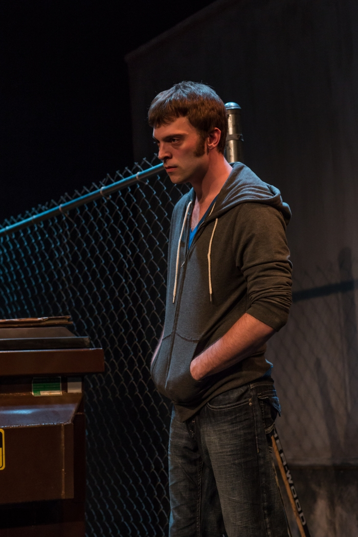 Steve Vanderzee, a 2012 PAC graduate, returns for SUBURBIA.  Photo: Gary Norman.