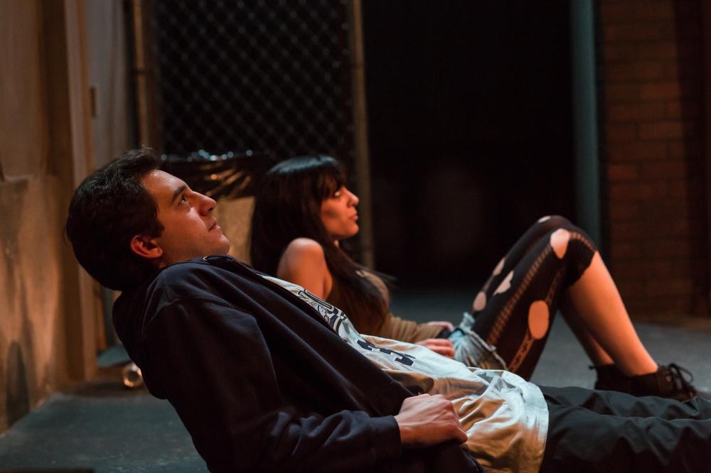 Jared Baker and Lauren Silverstein.  Photo: Gary Norman.