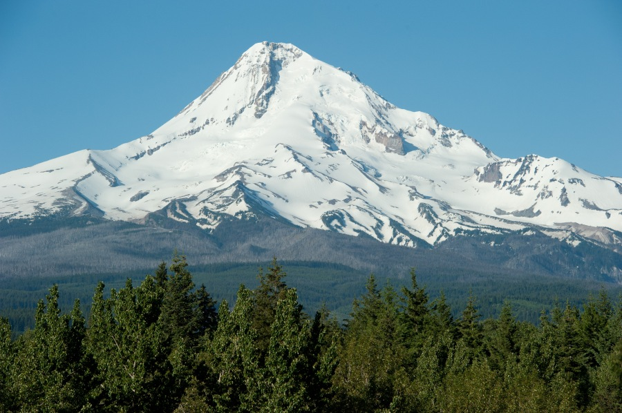 Big, beautiful, and 100% Oregon.  One of the world's favorite mountains.