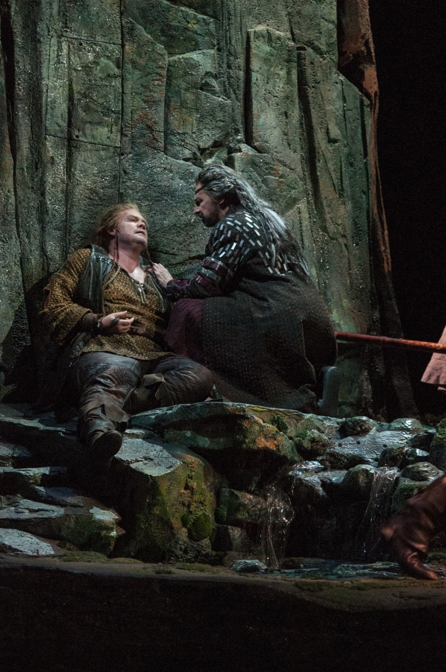 Wagner's Die Walküre, Stuart Skelton (Siegmund), Greer Grimsley (Wotan). © Elise Bakketun photo