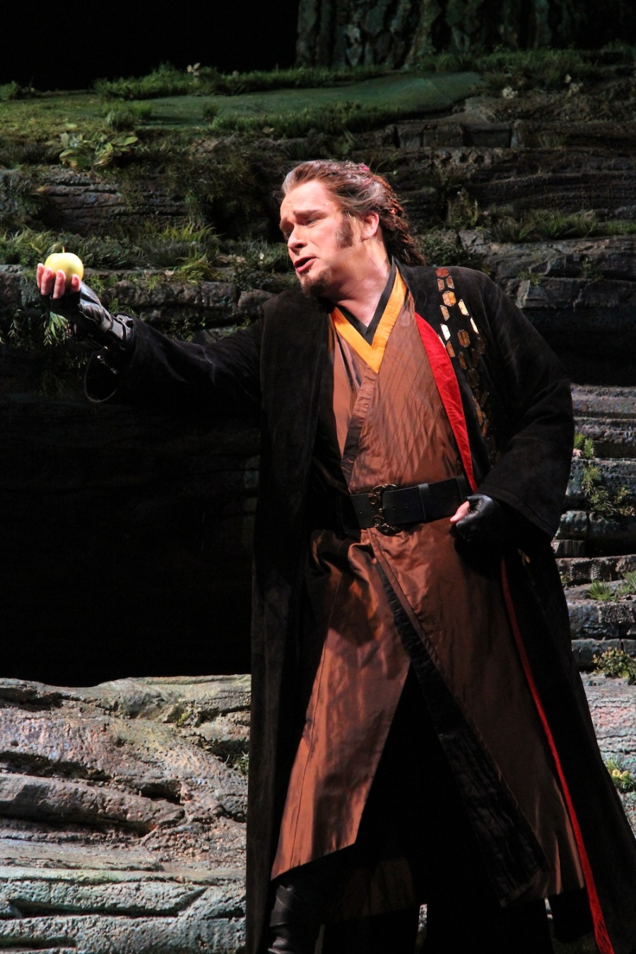 Wagner's Das Rheingold, Mark Schowalter as Loge.  © Alan Alabastro photo