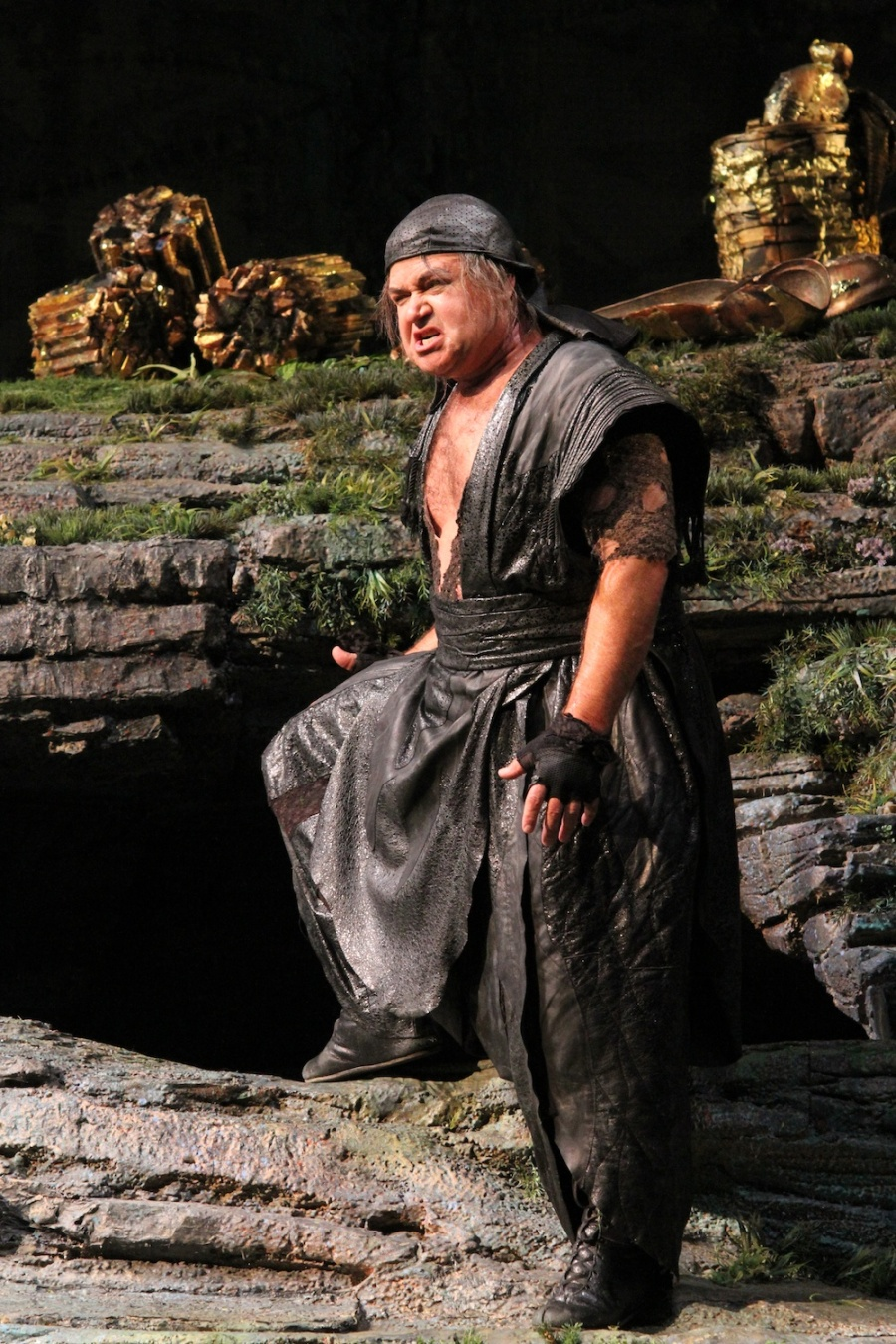 Wagner's Das Rheingold, Richard Paul Fink as Alberich.  © Alan Alabastro photo