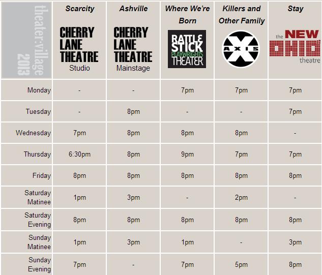 Configure your own theatre marathon.
