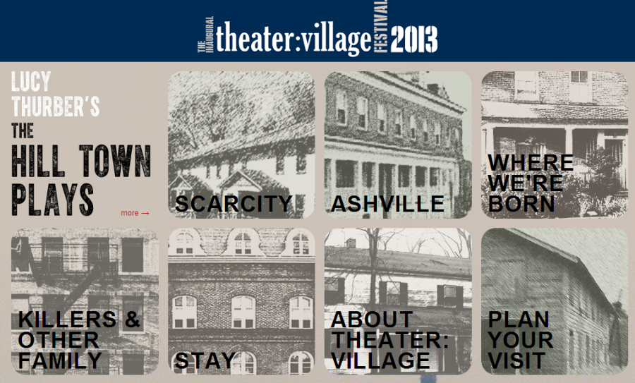 Coup de ville.  A theater festival in the Village this summer.
