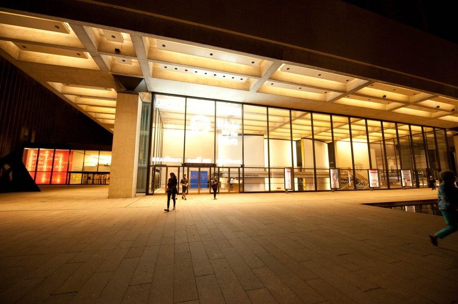 Bright lights, big theatre.