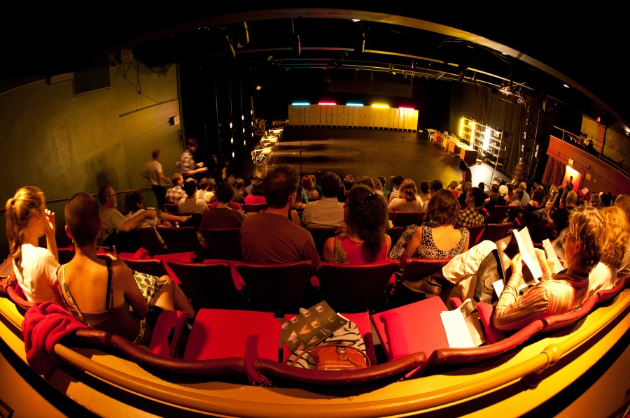 Imago Theatre was the perfect venue for THE YEAR I WAS BORN.
