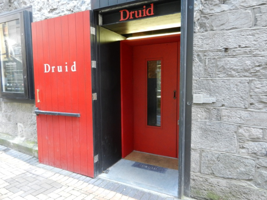 From this tiny 99 seat theatre in Galway to Broadway, the West End, and beyond.  Druid's home theatre.