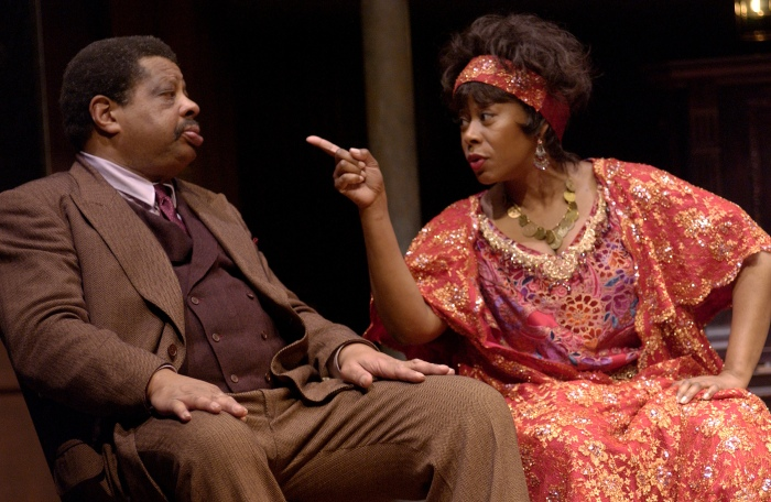 MA RAINEY'S BLACK BOTTOM at OSF (2005). Josiah Phillips, Greta Oglesby. Photo: Jenny Graham