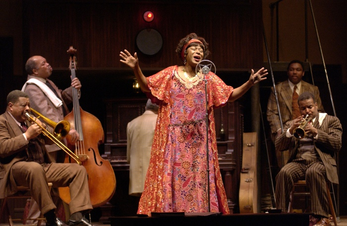 MA RAINEY'S BLACK BOTTOM at OSF (2005). Ensemble.  Photo: Jenny Graham.