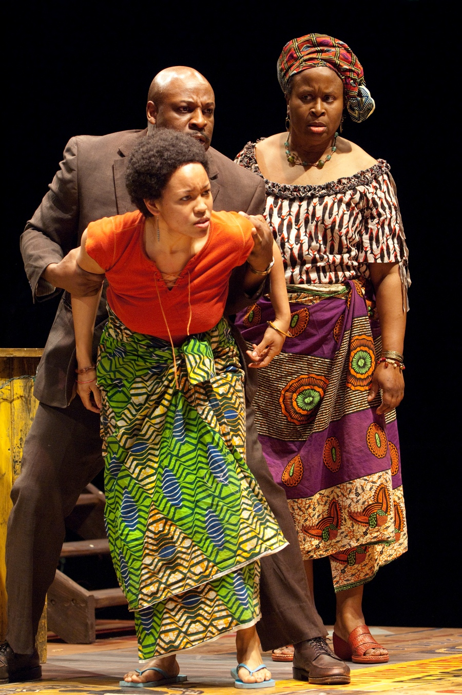 Tyrone Wilson, Kimberly Scott, Dawn-Lyen Gardner.  Photo: Jenny Graham.