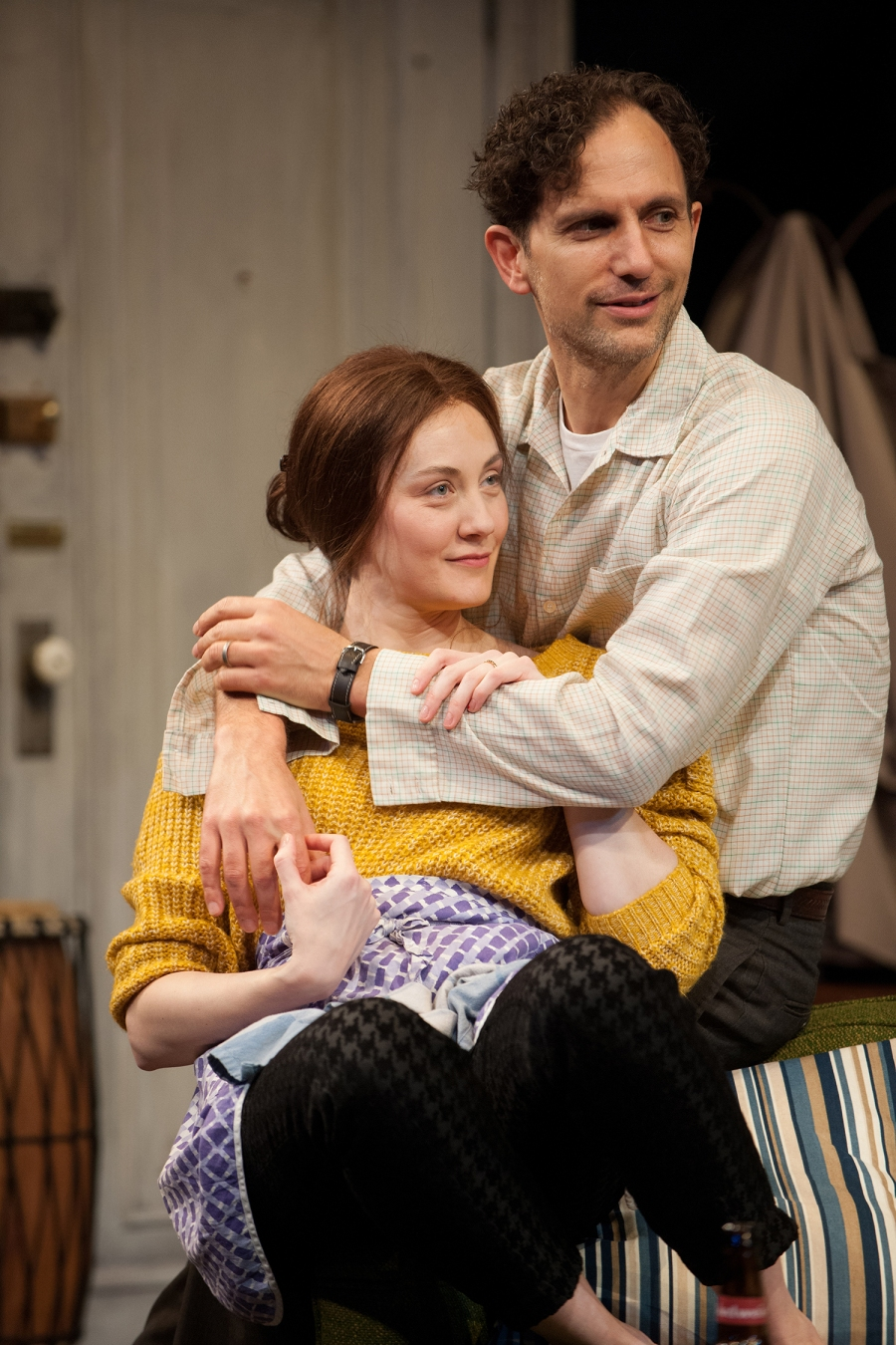 Sidney (Ron Menzel) and Iris (Sofia Jean Gomez). Photo: Jenny Graham.
