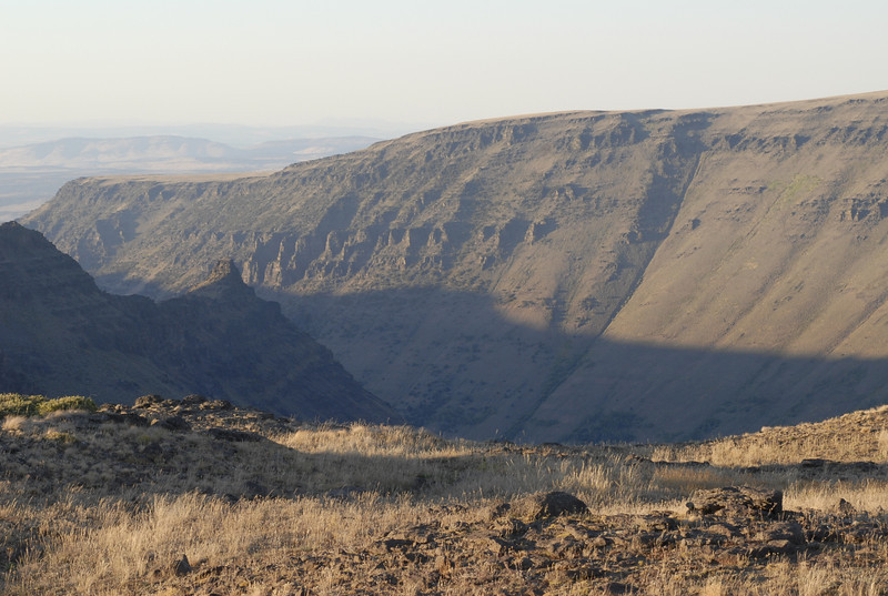 On the Steens.