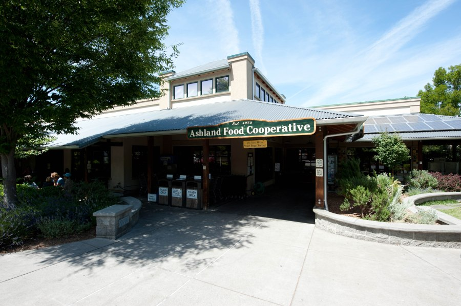 One of the good things to come out of 1972.  The Ashland Food Cooperative is a community hub and great lunch stop.