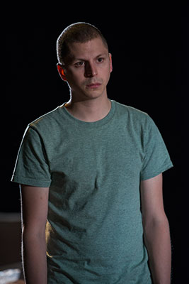 Michael Cera as Warren.  On the run from Dad.  Photo: Michael Brosilow.