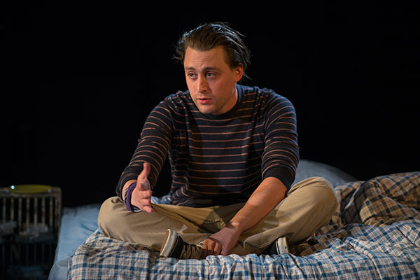 Kieran Culkin is Dennis Zielger.  Photo: Michael Brosilow.