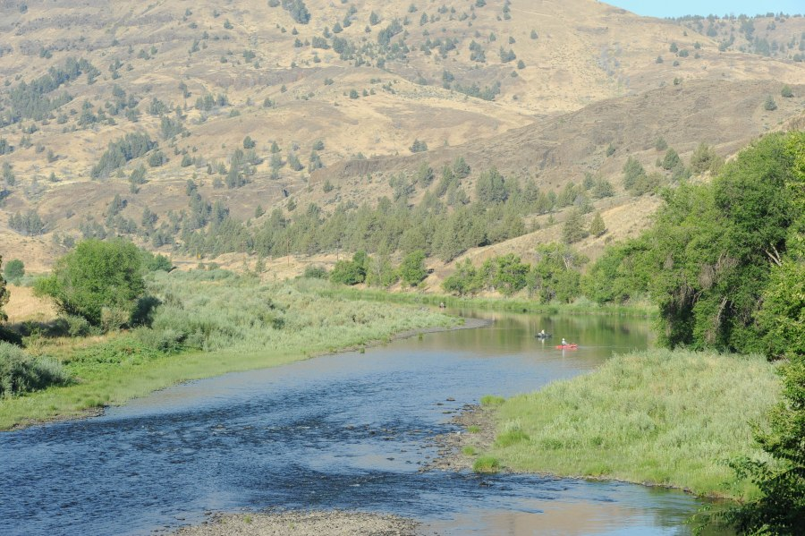 One of the west's great rivers - the John Day.