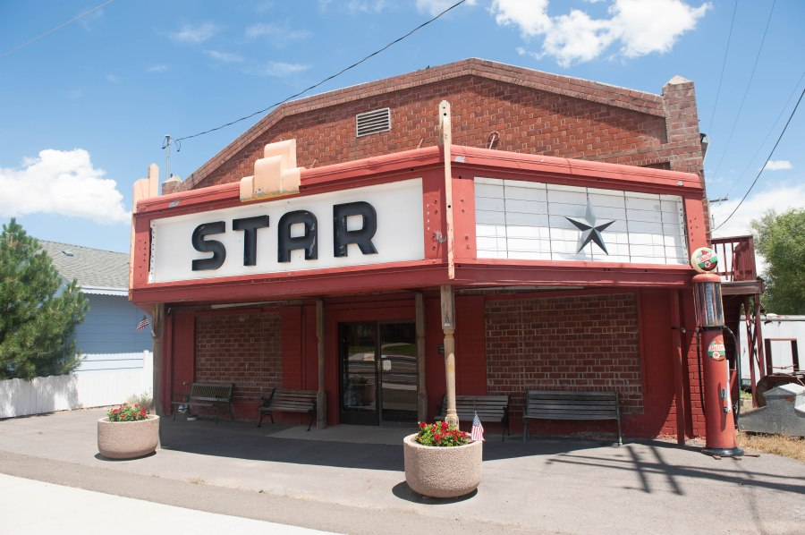The Star Theater in Bly, Oregon.