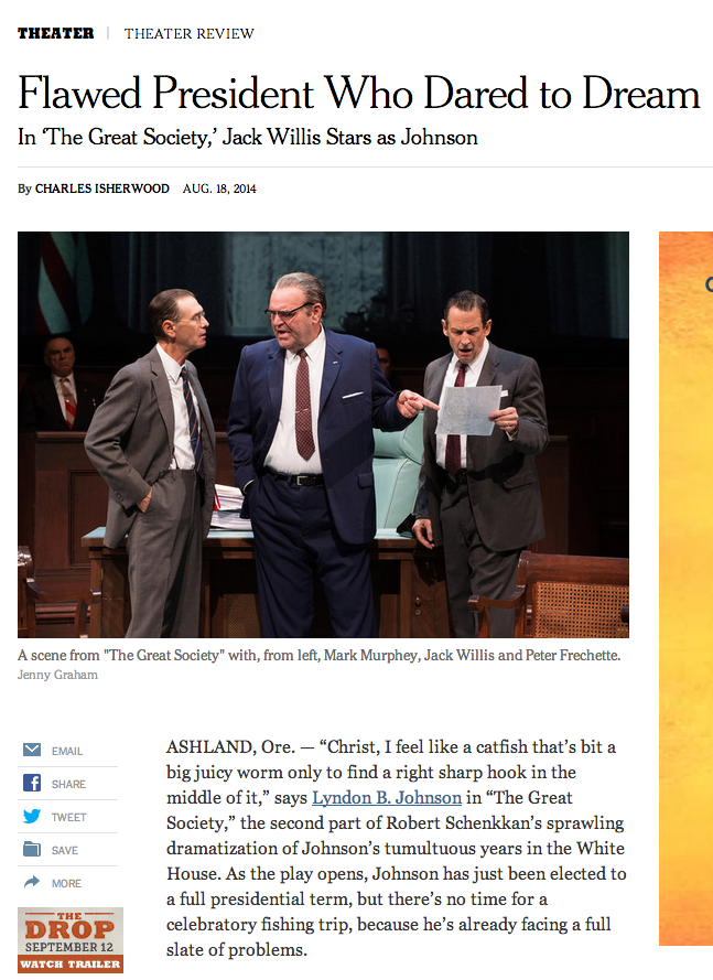 NYT comes to OSF.
