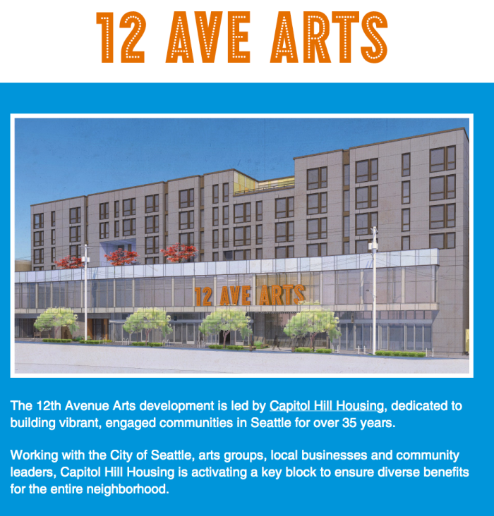 All new for you.  Seattle's new shared performance space on Capitol Hill.