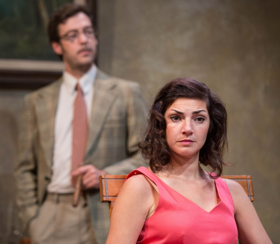 I'm in charge here.  Anne Sorce is Ruth.  Photo: John Rudoff.