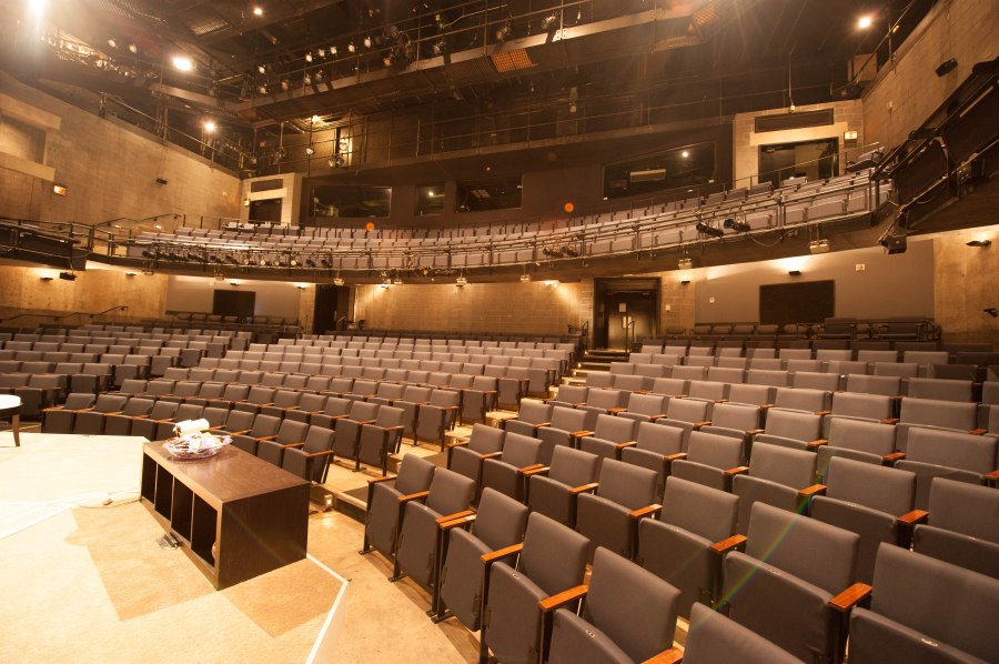 Steppenwolf's main 500 seat theatre.