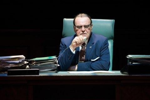 Robert Schenkkan's epic two play cycle about President Johnson comes to Seattle.  Jack Willis is LBJ. Photo: Jenny Graham.