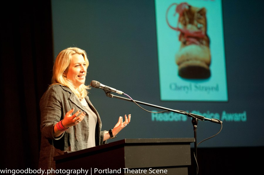 Cheryl Strayed at the 2013 Oregon Book Awards.