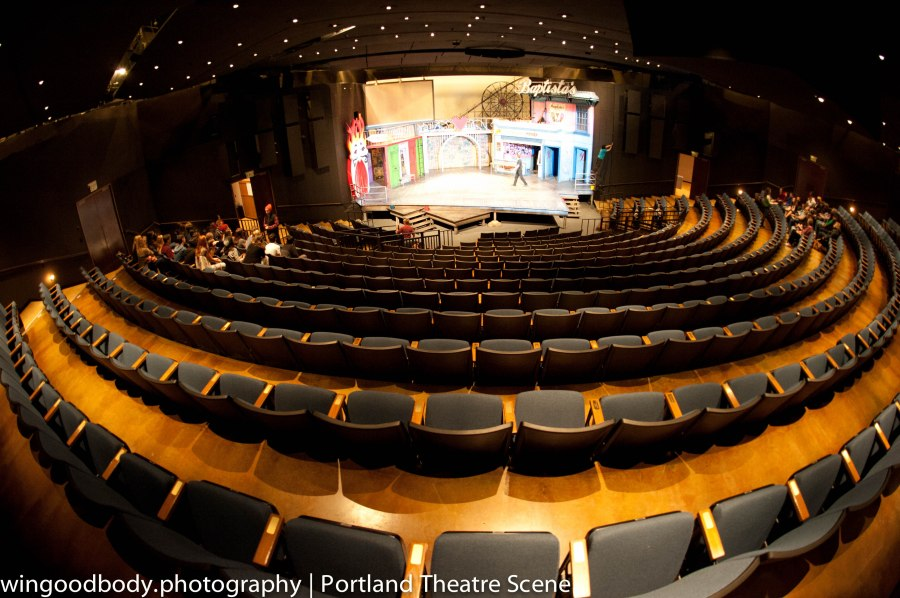 If you like stories, this is Mecca.  OSF's Bowmer Theatre.