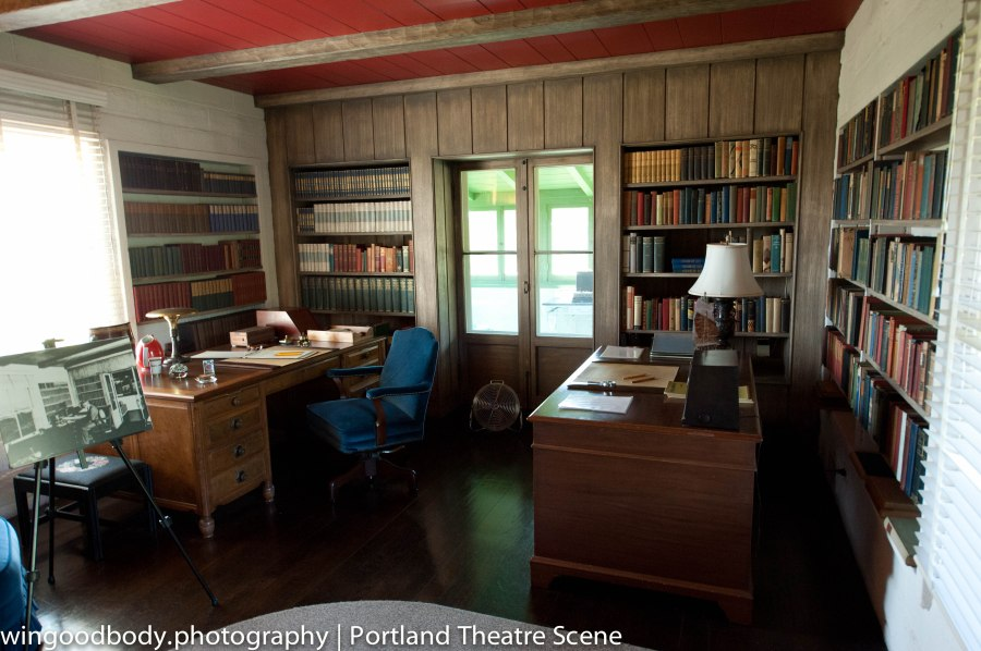 O'Neill's desk at Tao House where he wrote The Iceman Cometh (1939), A Touch of the Poet (1939), More Stately Mansions (1939), Hughie (1941), Long Day's Journey Into Night (1941), and A Moon for the Misbegotten (1943).