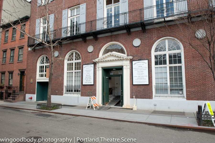Barrow Street Theatre in the West Village.