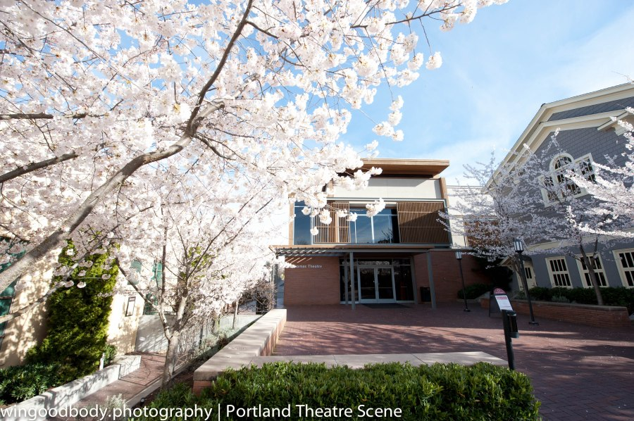 Outside, blossom season in Ashland is already past.  But inside it's just getting started.
