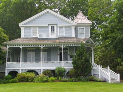 Monte Cristo, the O'Neill summer home in New London, CT where LONG DAY'S JOURNEY INTO NIGHT takes place.