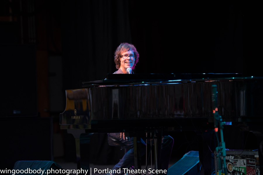 This guy. Wild creativity and joy - live on stage. Ben Folds.