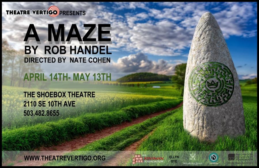 A MAZE by Rob Handel at Theatre Vertigo