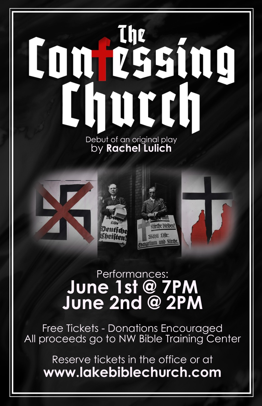 Confessing Church Poster